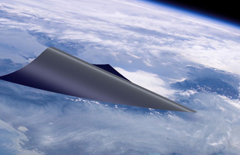 hypersonic wing